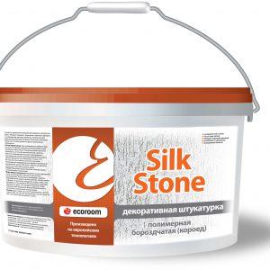 Штукатурка полимерная бороздчатая Короед — Silkstone Экорум (Ecoroom)