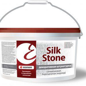 Штукатурка силиконовая Короед — Silkstone Экорум (Ecoroom)