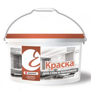 Краска для стен и потолков Белая — Экорум (Ecoroom)