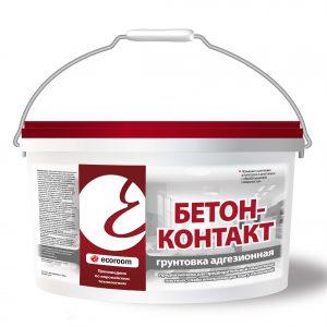 Грунтовка бетон-контакт — Экорум (Ecoroom)