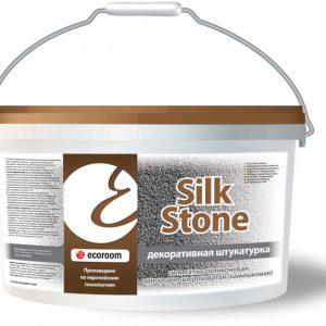 Штукатурка силикатно-силиконовая шероховатая Камешковая шуба — Silkstone Экорум (Ecoroom)