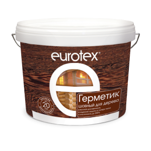 Герметик шовный акриловый — Евротекс (Eurotex) Герметик для дерева