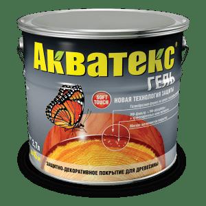 Декоративная пропитка — Акватекс ГЕЛЬ