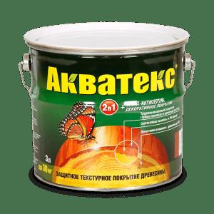 Декоративная пропитка — Акватекс