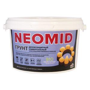 Антисептик для защита минеральных поверхностей от плесени — Неомид BIO РЕМОНТ