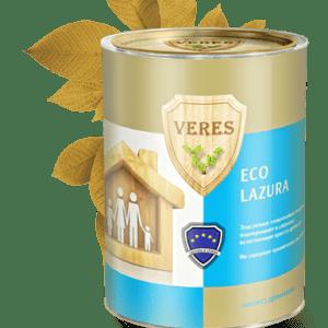 Экологичная пропитка — Верес Эко Лазура (Veres Eco Lazura)