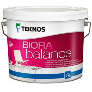 Краска для интерьера акриловая — Текнос Биора Баланс (Teknos Biora Balance)