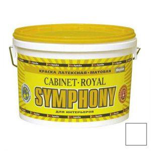 Краска латексная для сухих помещений — Симфония Кабинет Ройал (Symphony Cabinet Royal)