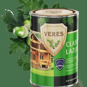 Пропитка для древесины — Верес Классик Лазура (Veres Classic Lazura)