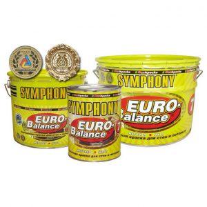 Краска акрилатная повышенной влагостойкости — Симфония Евро Баланс 7 (Symphony Euro Balance)
