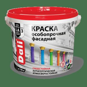Краска акриловая фасадная — Дали (Dali) Краска особопрочная