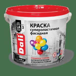 Краска акриловая фасадная — Дали (Dali) Краска суперэластичная
