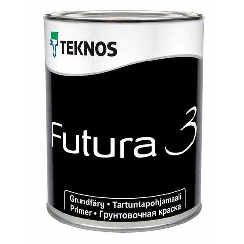 Краска грунтовочная промежуточная матовая — Текнос Футура 3 (Teknos Futura)
