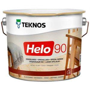 Лак для дерева уретано-алкидный износостойкий глянцевый — Текнос Хело 90 (Teknos Helo)