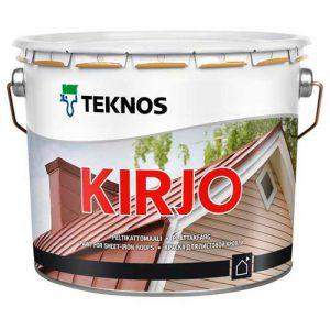 Краска для кровли и металлических конструкций антикоррозийная  — Текнос Кирьё (Teknos Kirjo)