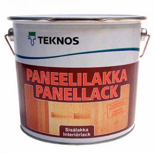 Лак для деревянных стен и потолков  акриловый полуматовый — Текнос Панеллилакка (Teknos Paneelilakka)