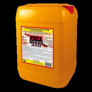 Огнезащита морозоустойчивая с красителем — Пирекс (Pirex) Firebio PROF для 1 и 2 группы защиты