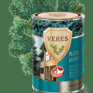 Пропитка для древесины с повышенным сроком эксплуатации — Верес Платинум Лазура (Veres Platinum Lazura)