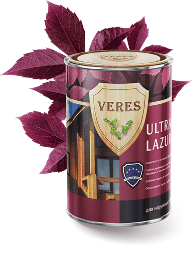 Пропитка для древесины — Верес Ультра Лазура (Veres Ultra Lazura)