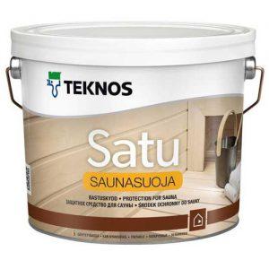 Антисептик для бани и сауны — Текнос Сауна Натура (Teknos Satu Saunasuoja)