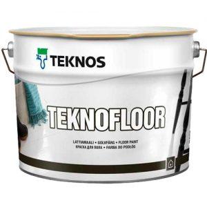 Краска для пола полиуретановая глянцевая — Текнос Текнофлор (Teknos Teknofloor)