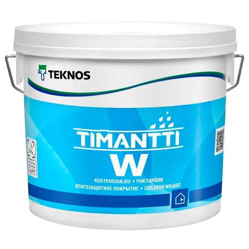 Грунтовка для влажных помещений влагоизолирующая — Текнос Тиманти (Teknos Timnatti W)