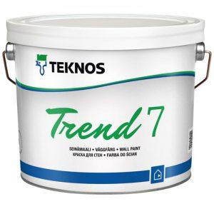 Краска для стен акриловая — Текнос Тренд 7 (Teknos Trend)