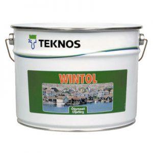 Краска по дереву масляная — Текнос Винтол (Teknos Wintol)
