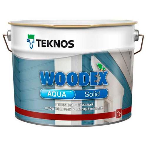 Антисептик для древесины акрилатно-алкидный кроющий — Текнос Вудекс Аква Солид (Teknos Woodex Aqua Solid)