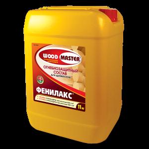 Огнезащита морозоустойчивая с красителем — Вудмастер (Woodmaster) Фенилакс для 2 группы защиты